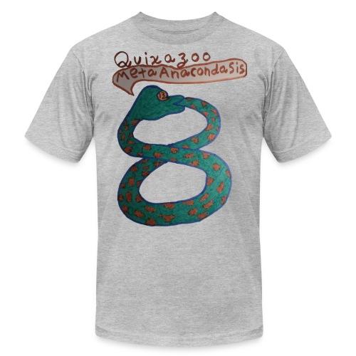 MetaAnacondaSisFull8 - Unisex Jersey T-Shirt by Bella + Canvas