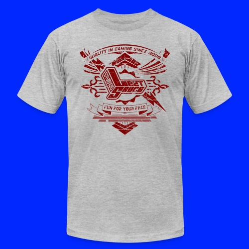 Vintage Leet Sauce Studios Crest Red - Unisex Jersey T-Shirt by Bella + Canvas