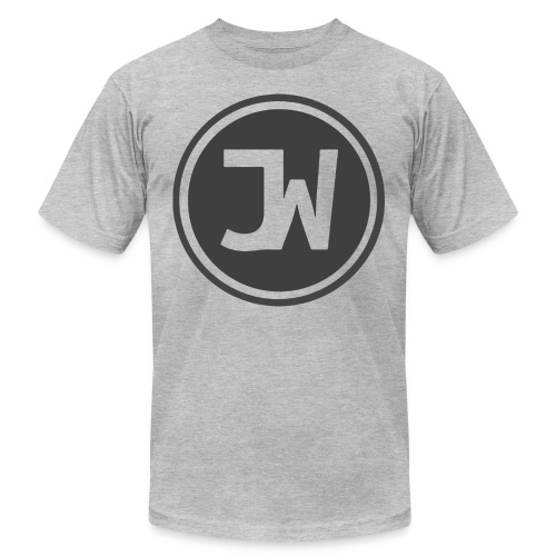 Grey Johannes With Logo - Men's  Jersey T-Shirt