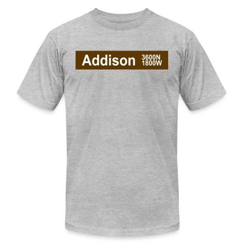 Addison Brown Line - Men's Jersey T-Shirt