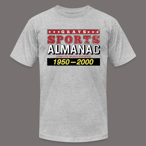 Grays Sports Almanac - Unisex Jersey T-Shirt by Bella + Canvas