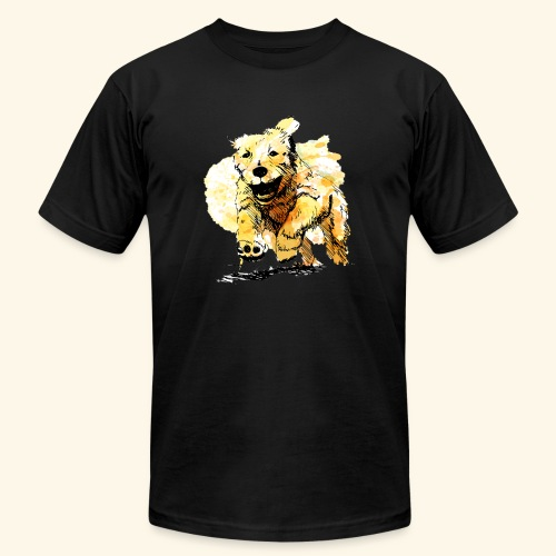 oil dog - Men's  Jersey T-Shirt