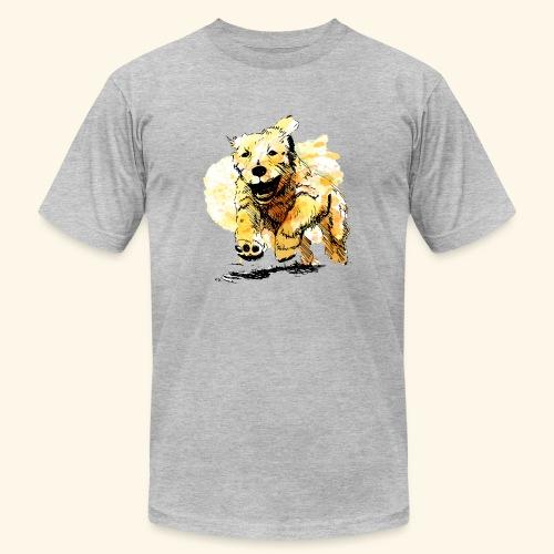 oil dog - Men's Jersey T-Shirt