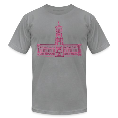 Red City Hall Berlin - Unisex Jersey T-Shirt by Bella + Canvas