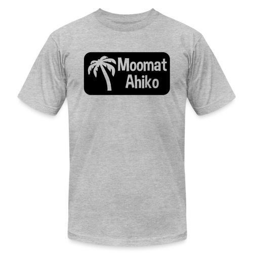 Moomat Ahiko retro black - Unisex Jersey T-Shirt by Bella + Canvas