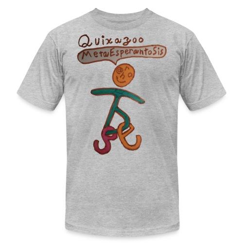 Quixazoo17 Yang - Unisex Jersey T-Shirt by Bella + Canvas