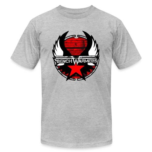 Logo2 Contour noir - Unisex Jersey T-Shirt by Bella + Canvas