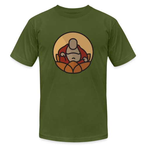 AMERICAN BUDDHA CO. COLOR - Men's Jersey T-Shirt