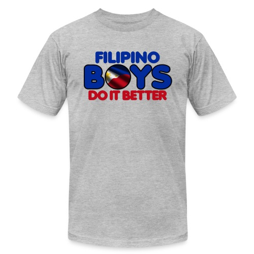 2020 Boys Do It Better 05 Filipino - Unisex Jersey T-Shirt by Bella + Canvas