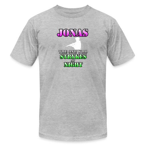White Jonas - Unisex Jersey T-Shirt by Bella + Canvas