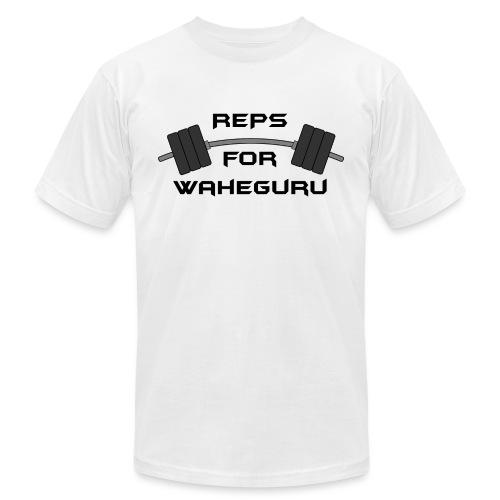 REPS FOR WAHEGURU - Unisex Jersey T-Shirt by Bella + Canvas