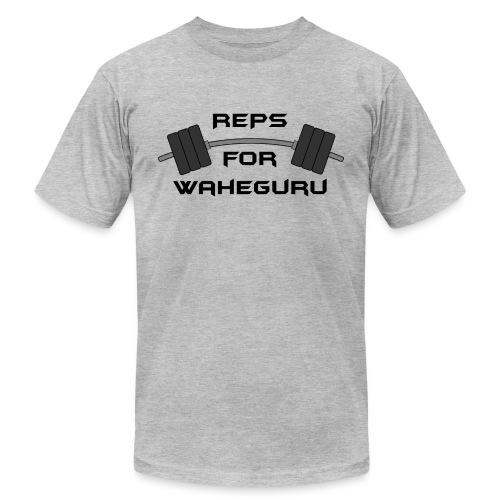 REPS FOR WAHEGURU - Unisex Jersey T-Shirt by Bella + Canvas
