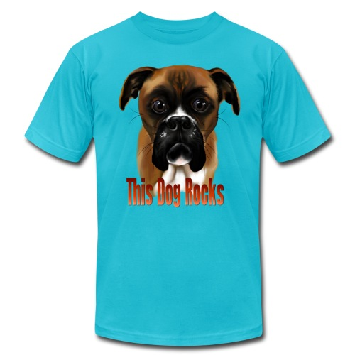 This Dog Rocks - Unisex Jersey T-Shirt by Bella + Canvas