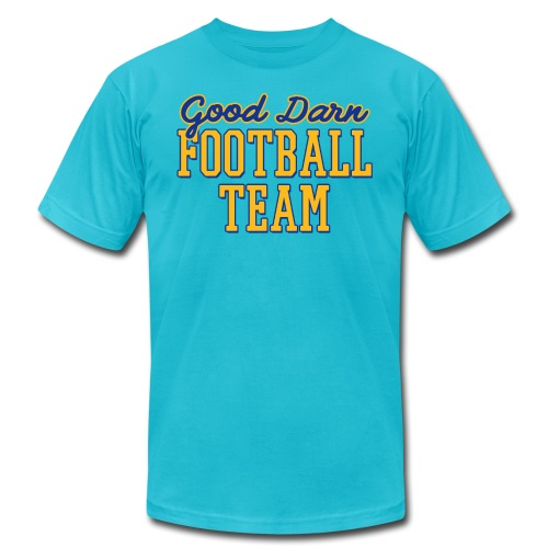 Good Darn Football Team - Unisex Jersey T-Shirt by Bella + Canvas