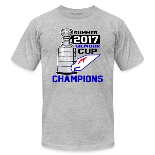Intangibles Summer 17 Gilmour Cup Champs T-Shirt - Unisex Jersey T-Shirt by Bella + Canvas
