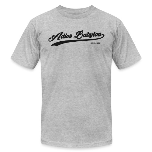 Adios Babylon NYC : STX - Unisex Jersey T-Shirt by Bella + Canvas