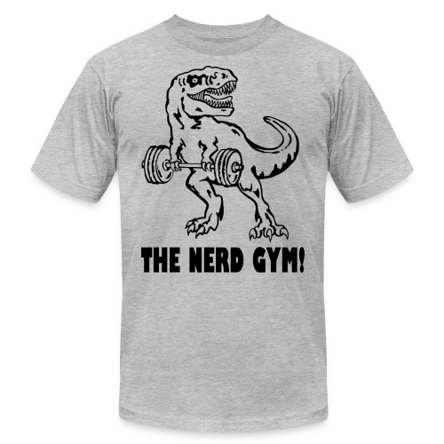 The Nerd Gym - Max Rex - Men's  Jersey T-Shirt