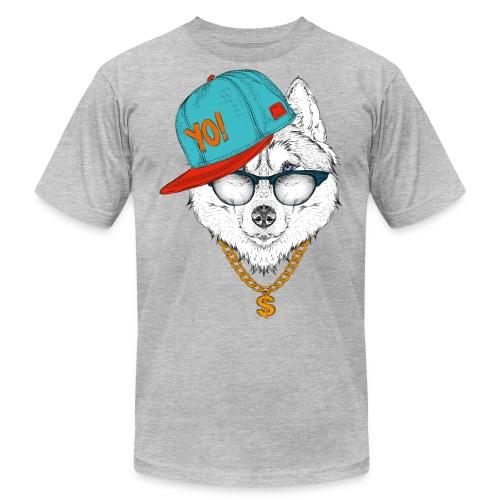 cool husky - Men's  Jersey T-Shirt
