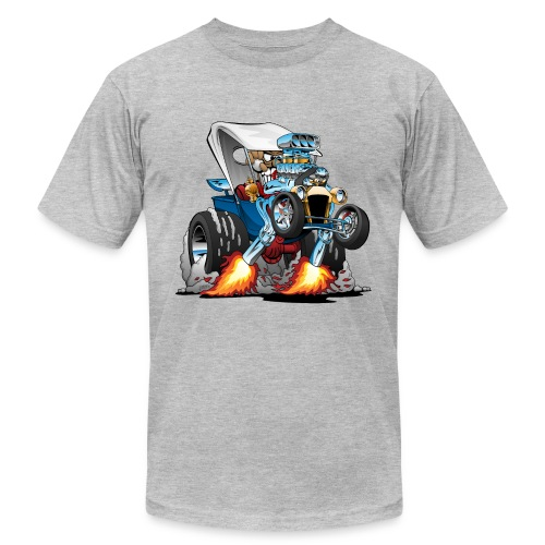 Custom T-bucket Roadster Hotrod Cartoon - Men's  Jersey T-Shirt