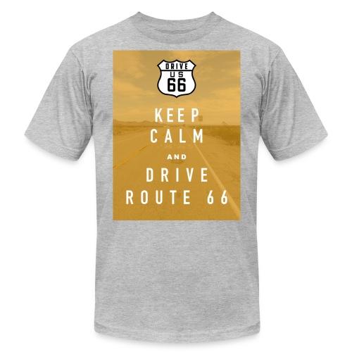 Route 66 Keep Calm T-Shirt - Men's  Jersey T-Shirt