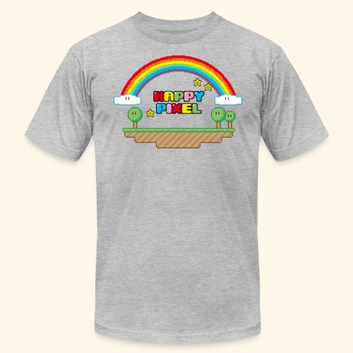 Happy Pixel - Unisex Jersey T-Shirt by Bella + Canvas