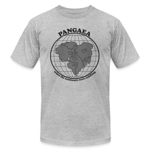 Pangaea Grey by Dan Meth - Unisex Jersey T-Shirt by Bella + Canvas