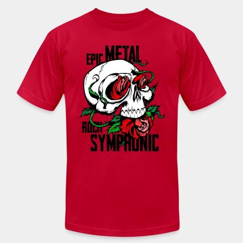 epic rock symphonic - Unisex Jersey T-Shirt by Bella + Canvas