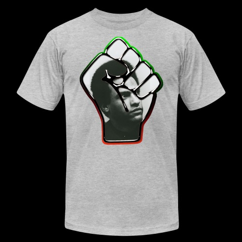 Huey Newton RBG Fist - Unisex Jersey T-Shirt by Bella + Canvas