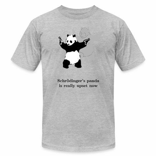 Schrödinger's panda is really upset now - Unisex Jersey T-Shirt by Bella + Canvas