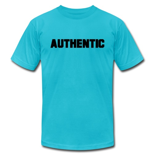authentic - Unisex Jersey T-Shirt by Bella + Canvas