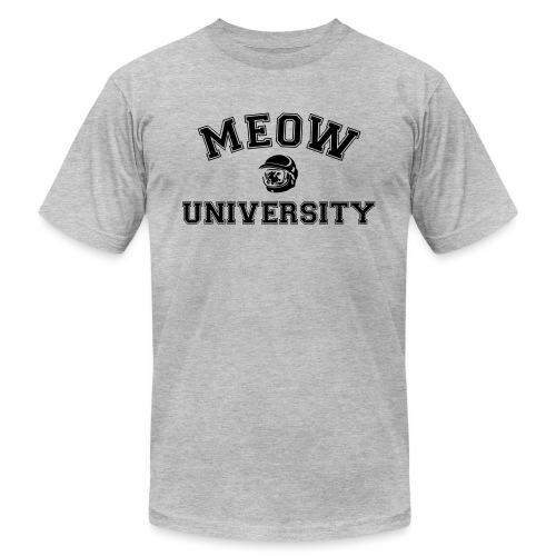 meow university - Unisex Jersey T-Shirt by Bella + Canvas