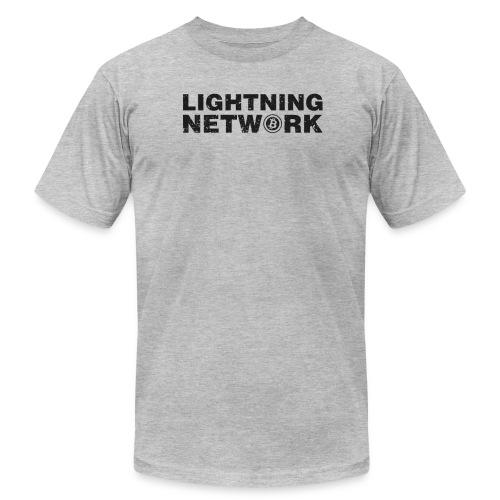 Lightning Network Bitcoin Tshirt - Men's  Jersey T-Shirt