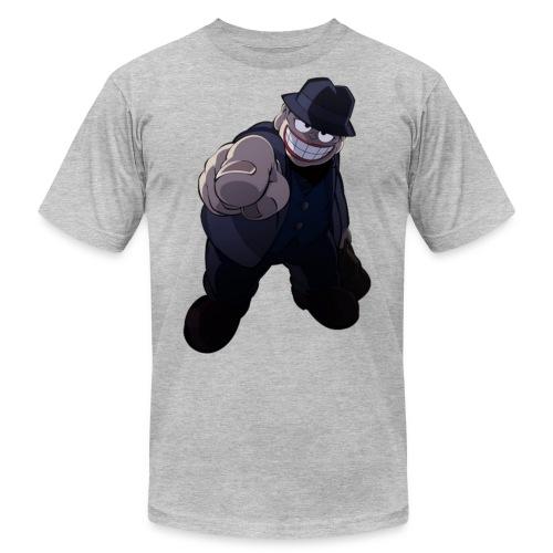 The Laughing Salesman - Men's  Jersey T-Shirt