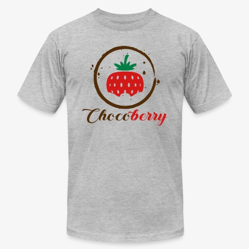 Chocoberry - Unisex Jersey T-Shirt by Bella + Canvas