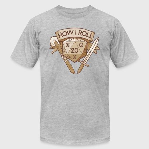 How I Roll D&D Tshirt - Unisex Jersey T-Shirt by Bella + Canvas