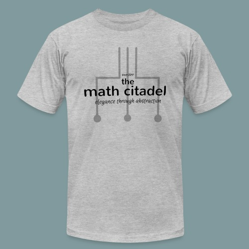 Abstract Math Citadel - Unisex Jersey T-Shirt by Bella + Canvas