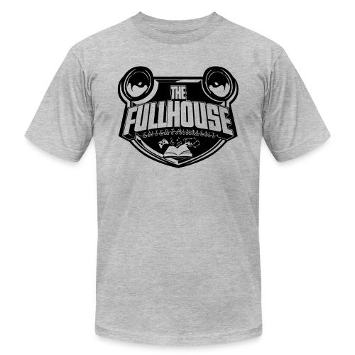 iPad 2/3 Case With Black/White FHE Logo - Men's Jersey T-Shirt