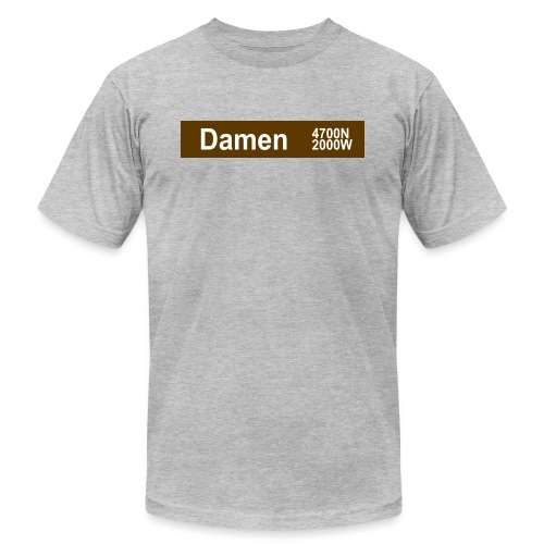 Damen CTA Brown Line - Men's Jersey T-Shirt