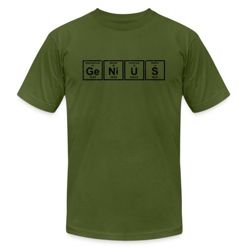 Genius (Periodic Elements) - Men's  Jersey T-Shirt