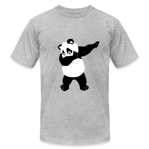 Dabbing Bear - Unisex Jersey T-Shirt by Bella + Canvas