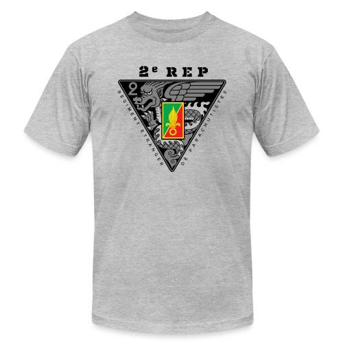 2e REP - Foreign Legion - Badge - Dark - Unisex Jersey T-Shirt by Bella + Canvas