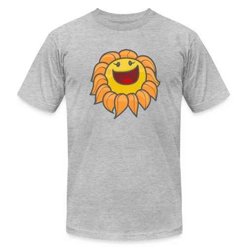 Happy sunflower - Unisex Jersey T-Shirt by Bella + Canvas