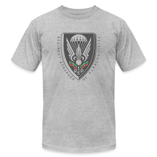 1er REP - Regiment - Badge - Dark - Unisex Jersey T-Shirt by Bella + Canvas