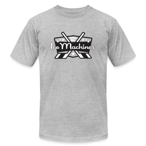 OpenSRS Ice Machines Hockey - Unisex Jersey T-Shirt by Bella + Canvas