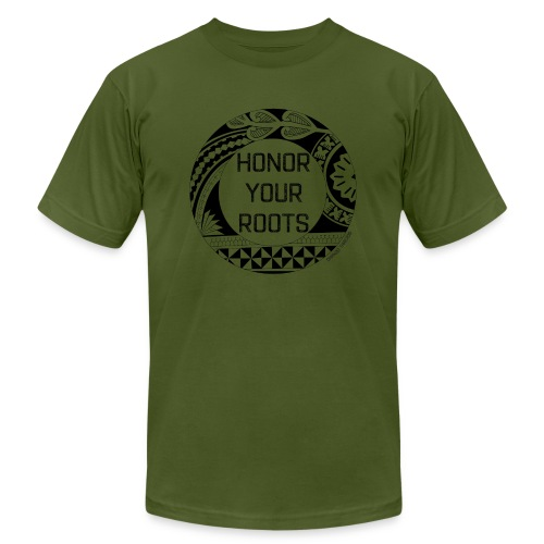 Honor Your Roots (Black) - Men's  Jersey T-Shirt