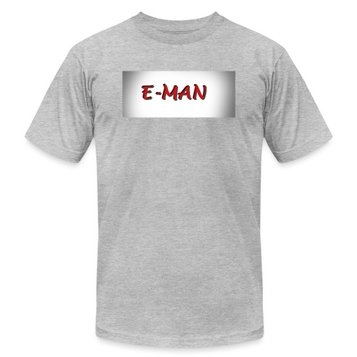 E-MAN - Unisex Jersey T-Shirt by Bella + Canvas