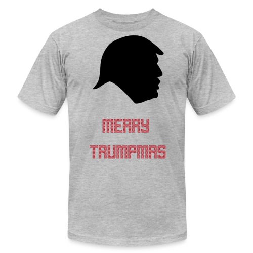 Merry Trumpmas Red - Unisex Jersey T-Shirt by Bella + Canvas