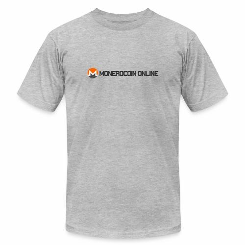 monerocoin online dar - Unisex Jersey T-Shirt by Bella + Canvas