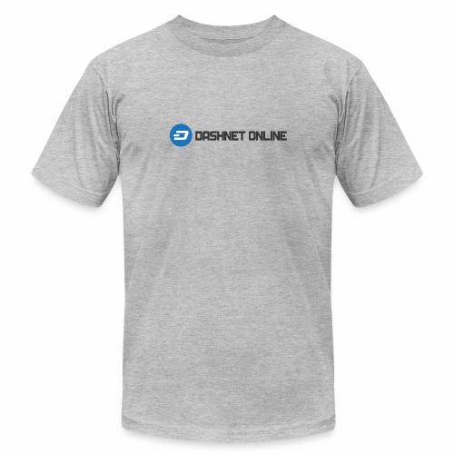 dashnet online dark - Unisex Jersey T-Shirt by Bella + Canvas
