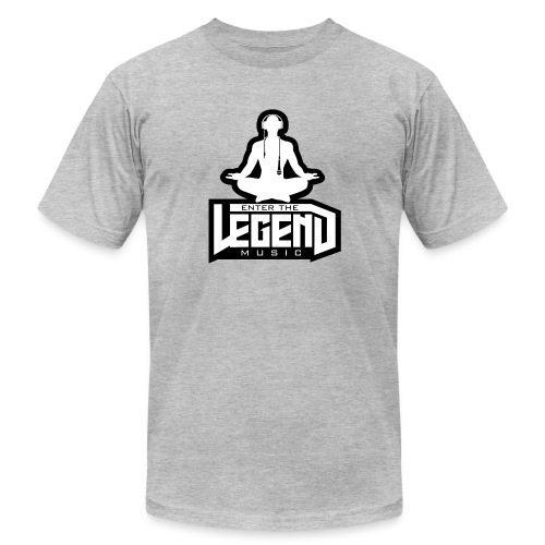 Enter The Legend Music B/W - Men's  Jersey T-Shirt